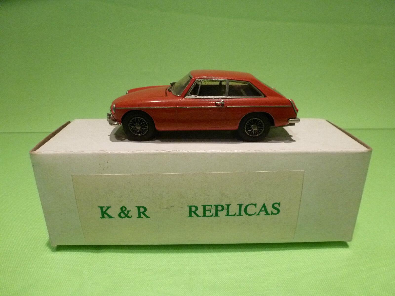 METAL BUILT KIT ACE 12 K&R REPLICAS MG B GT MKII 1 43 - RARE SELTEN - IN BOX