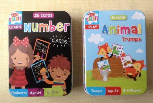 2no packs of Kids Create Flash Cards various options Educational UK seller