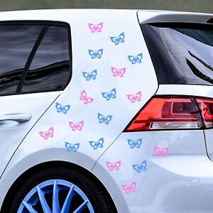 20 HQ BUTTERFLY STICKER Car Bumper Window Mirror Wall VINYL DECALS *REDUCED*