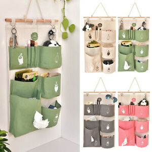 6 Pocket Home Wall Hanging Storage