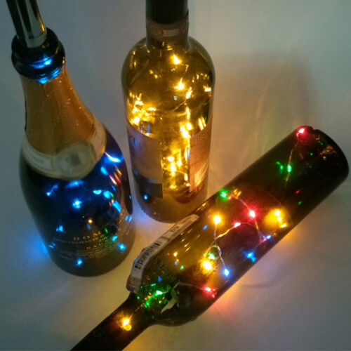 Bottle Lights LED Cork Shape Strings Lights for Wine Bottle Starry Bar Party GQ
