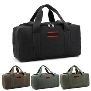Military-Canvas-Duffle-Gym-Bag-Sports-Travel-Luggage-Handbag-Tote-Shoulder-Bag