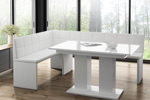 Esstisch,Esszimmertisch Säulentisch ausziehbar Hochglanz. Küchentisch