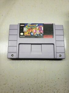Super-Bomberman-2-SNES-Super-Nintendo-Entertainment-System-TESTED-and-AUTHENTIC