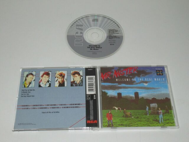 Mr. Mister / Welcome To The Real World ( Rca Pd 89647) CD Álbum