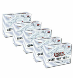Yugioh Ghosts from the Past Sealed Display Box (5 MINI-BOXES)! IN HAND!