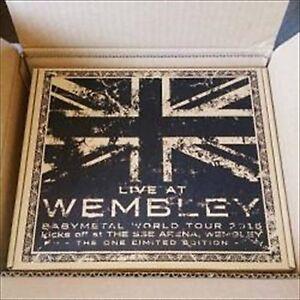 BABYMETAL-en-vivo-en-Wembley-Arena-una-Edicion-Limitada-Blu-ray-De-Japon-Nuevo