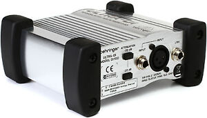 New-Behringer-Ultra-DI-DI100-Active-Direct-box-3-Year-Warranty-Auth-Dealer