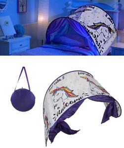 Para Niños Dormitorio Plegable Unicornio Sueño Pansize Pansize Pansize Infantil Túnel 0ba3ba
