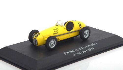 1:43 Atlas GORDINI Saga GORDINI TYPE 16 GP France 1954