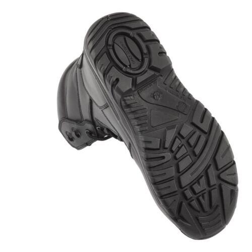 leggera stivali da militari di Gli punta lavoro polizia di sicurezza impermeabile della uomini Sz cuoio nero degli della oerdxWCB