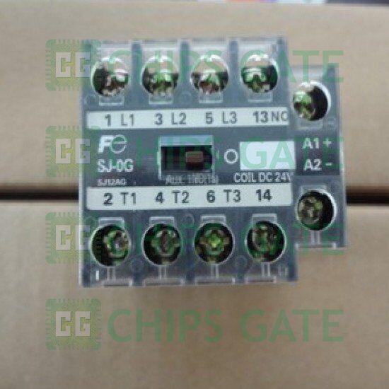 1PCS Fuji Contactor SJ-0G DC24V