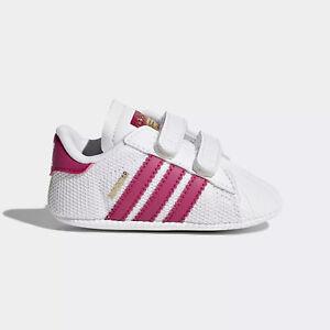 adidas Babyschuhe Superstar Crib S79917 weiß Pink 19