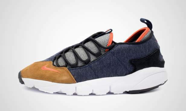 NIKE Air Footscape Footscape Footscape NM Nuovo Scarpe da Ginnastica gr:44 Blu Marrone Free Flyknit 90 97 Chukka 9a5aa6