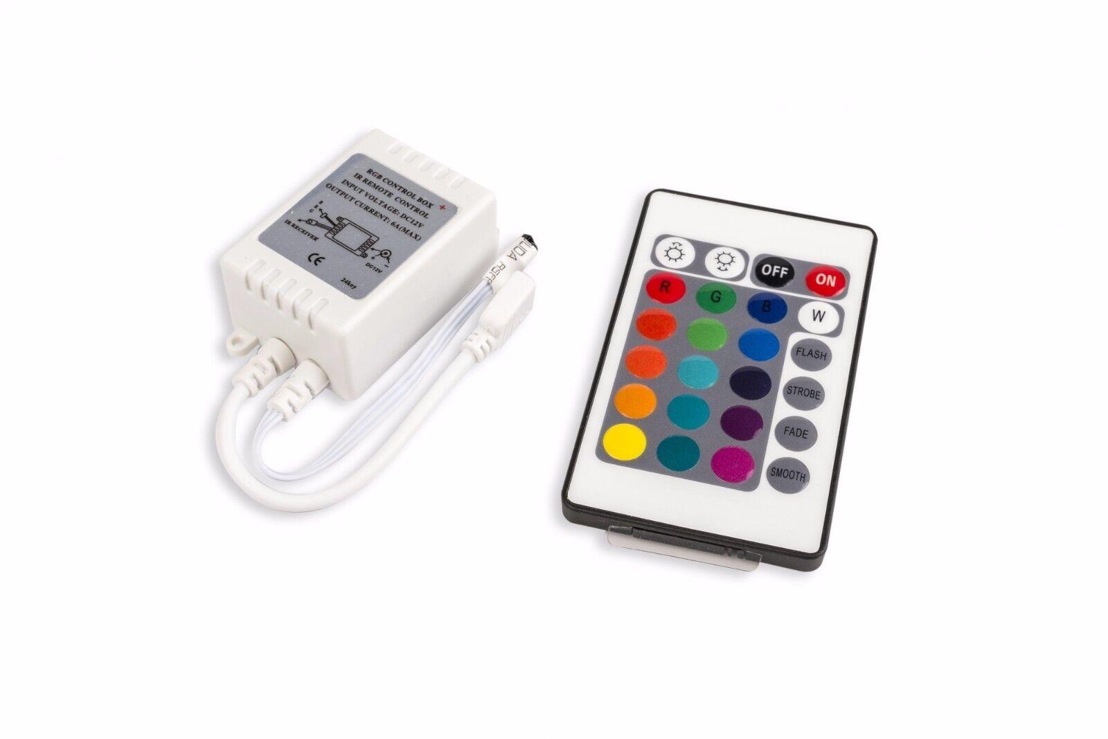 LUCE LUCE LUCE LED 15CM 9 Set di illuminazione RGB Scaffale Ripiani In Vetro Multi Coloree Kit mobili 61fa93