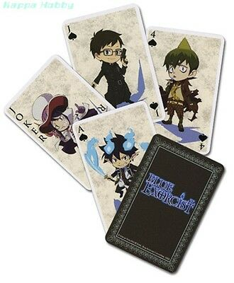GE Animation GE2051 Blue Exorcist Playing Cards