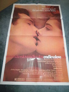 ENDLESS-LOVE-1981-BROOKE-SHIELDS-ORIGINAL-ONE-SHEET-POSTER