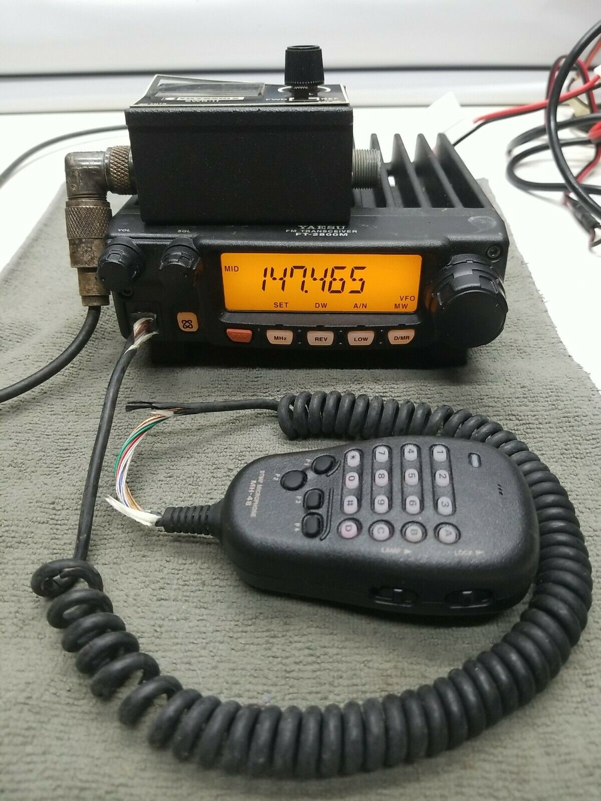 YAESU TRANSCEIVER FT2800M  . Available Now for 185.00