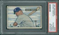 1951 Bowman 253 (R) Mickey Mantle PSA 0 (3570)