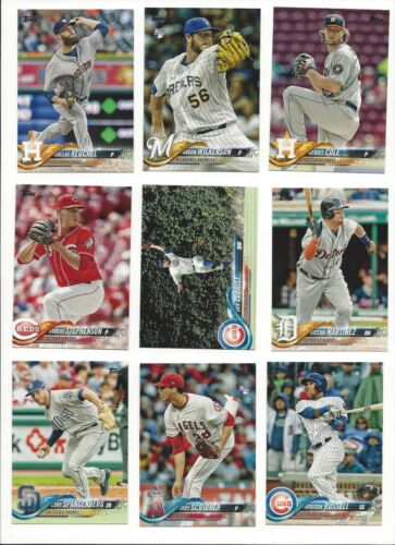WHO DO YOU NEED!! STARS, ROOKIE RC/'S 2018 TOPPS SERIES 1 /& 2  #/'s 250-499