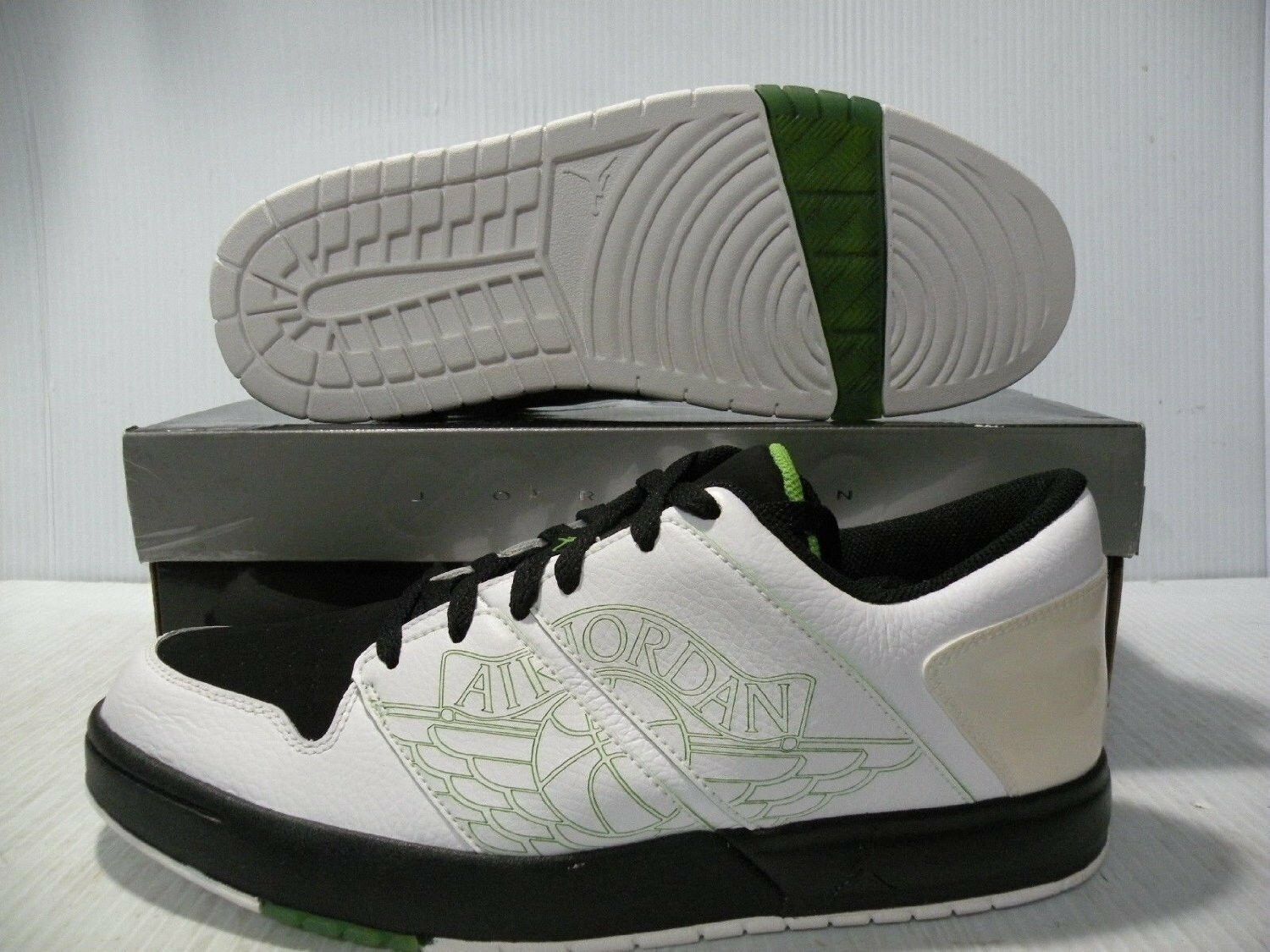 NIKE JORDAN NU RETRO 1 LO WHITE VINTAGE SNEAKERS MEN SHOES WHITE LO 317163-101 SZ 11 NEW f578af