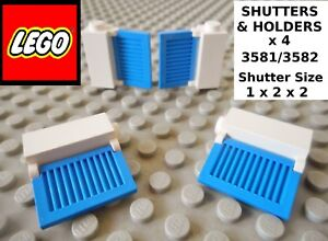Select Colour Pack Size LEGO 3582 1X2X2 Window Shutter P/&P FREE!
