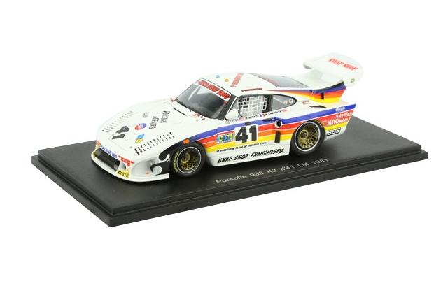 Porsche 935 K3 LM 1981 n°41 S2061 1 43 Sparkmodel