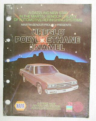 Vintage Old NAPA Martin Senour Ureglo Polyurethane Enamel ...