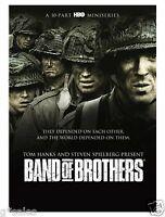 Band Of Brothers Complete 10-part Hbo Mini Series Brand 6-disc Dvd Set