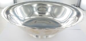 1947-1956-LARGE-TIFFANY-amp-Co-STERLING-SILVER-FRUIT-SALAD-BOWL-775-GRAMS