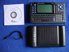 TI-92 Graphic Calculator TI92 Texas Instruments Graphing plus CD Manual Link