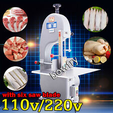 Automatic Bone Sawing Machine,Frozen Meat Bone Cutter Food Cutting Machine 110V
