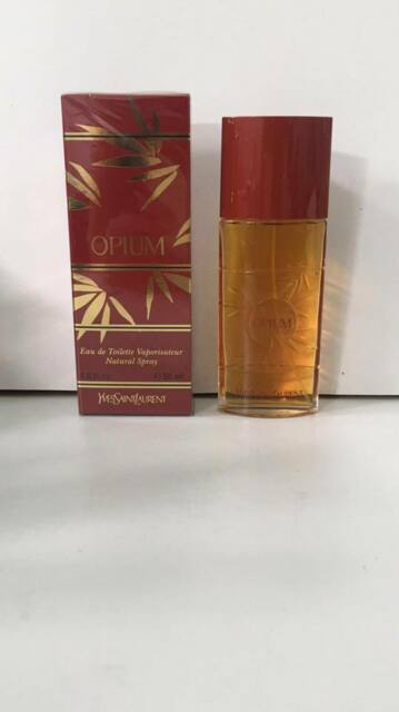 Yves Saint Laurent Opium Vintage Old Formula EDT 50ML Spray New & Rare