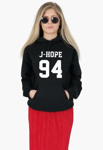J-Hope 94 Hoody Hoodie Top Kpop Fangirl Girls Generation BTS Suga Jungkook