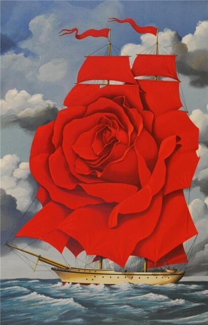 Rafal Olbinski Identity of Meaning Signed Fine Art Lithograph Ltd Ed S2