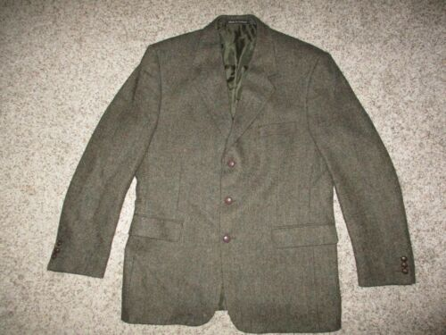 Blarney Woolen Mills herringbone Donegal Wool  twe
