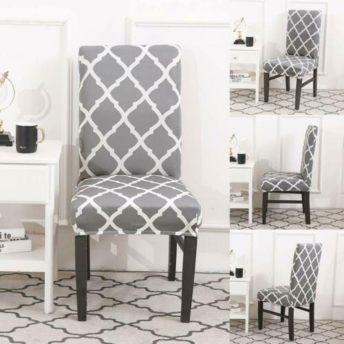 Dining Chair Seat Covers Slip Banquet Party Home Protective Stretch Covers Decor