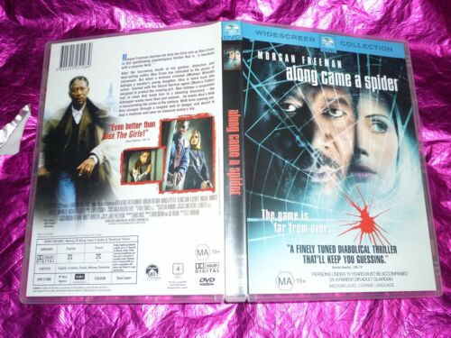 1 of 1 - ALONG CAME A SPIDER : (DVD, MA15+)