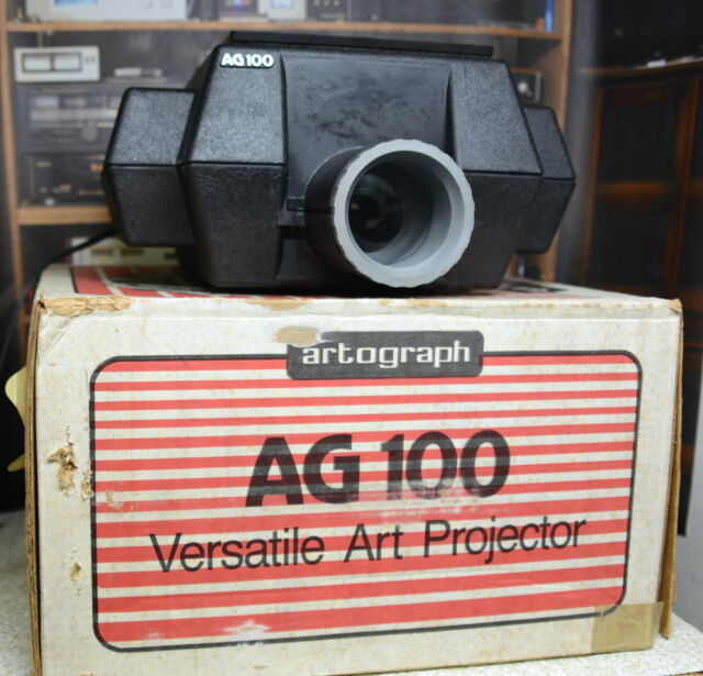 no box Artograph Super AG100 AG 100 Art Image Projector with Owner/'s Manual