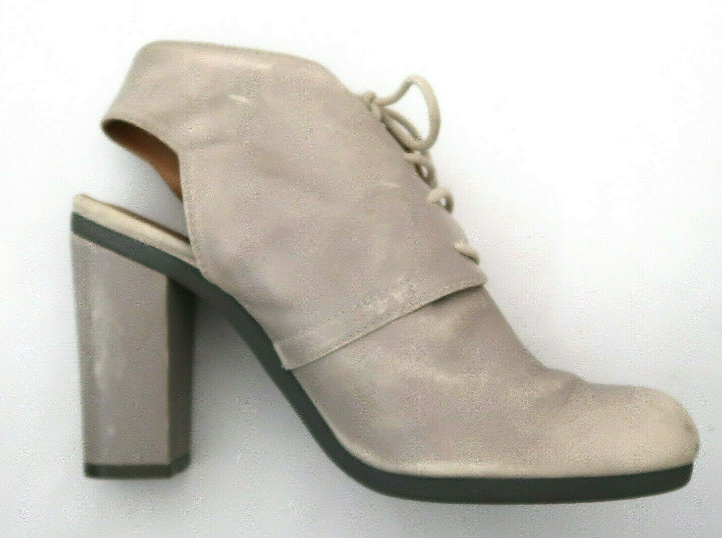 MM6 MARTIN MARGIELA distressed leather bootie sho… - image 5