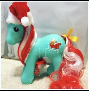 G1-Style-Christmas-Holiday-Pony-Custom-Hqg1c-Dasher-Holly-Treats-Brother
