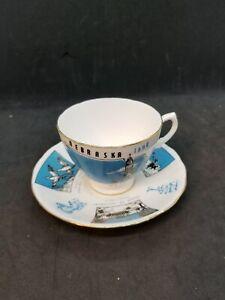 Royal Malvern English Bone China Made in England Tea Cup and Saucer