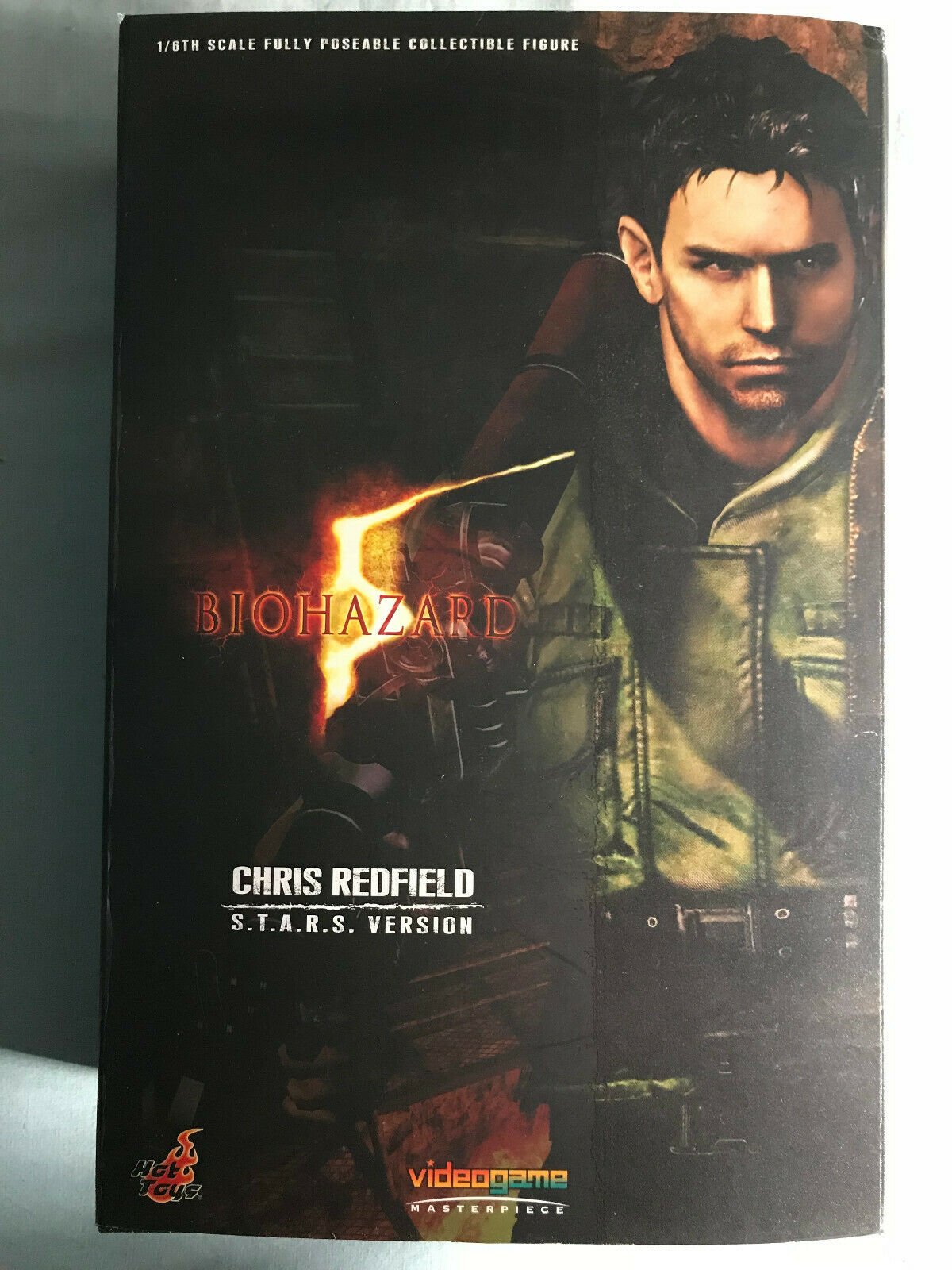 Hot Toys Resident Evil 5 Chris rotfield (S.T.A.R.S. Version)