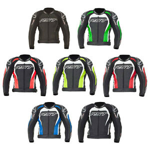 RST Tractech Evo II 2 Leather Motorcycle Motorbike Jacket | All Colours & Sizes