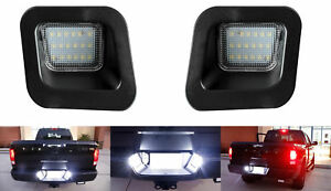 2-x-Premium-LED-Kennzeichenbeleuchtung-fuer-Dodge-RAM-ab-BJ-2002