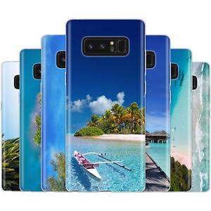 dessana-Karibik-Paradies-Silikon-Schutz-Huelle-Case-Handy-fuer-Samsung-Galaxy-A-J