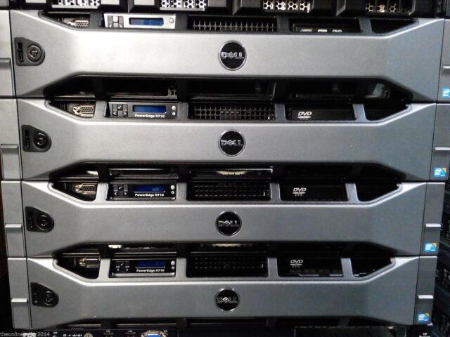 """Dell R710, 2*  E5645 2.4 Ghz 6 Core CPUs, 32GB RAM, Raid, Rack Rails 3.5"""" bays"""