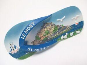 Le-Mont-Saint-Michel-3D-Poly-Fridge-Magnet-Souvenir-France