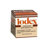 5 Pack - Iodex Regular Anti-infective Ointment Jar 1oz Each on Sale
