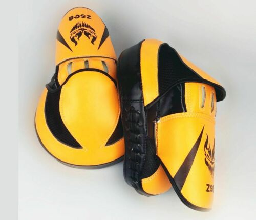 Boxing Pad Gloves Hand Target Bag Focus Punching MMA Thai Muay Karate Kick Fight